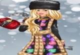 العاب تلبيس أزياء الشتاء الروسية