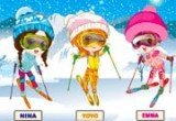 العاب تلبيس بنات الثلج 2016