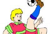 العاب تلوين كرة القدم