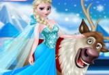 العاب تنظيف بشرة السا ملكة الثلج