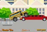 العاب سيارات الباص الاصفر المتوحش