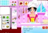 العاب طبخ سلطة خليجية