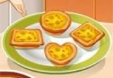 العاب طبخ فطائر البيض