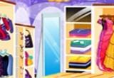العاب ديكور محل الملابس النسائيه الجديد