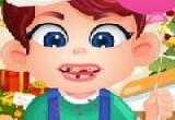 لعبة اسنان الطفل كارل عند طبيب الاسنان الاصلية