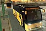 لعبة الباص الامريكي في المدينة الحديثة