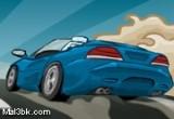 لعبة السيارة الرياضية السريعة الرهبية