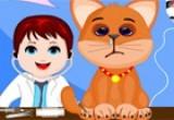 لعبة  الطفل الطبيب للحيوانات الحصرية