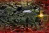 لعبة المقاتل رامبو في الادغال اصلية