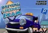 لعبة امتحان رخصة القيادة اون لاين