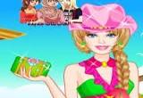 لعبة باربي الفراشة الخضراء