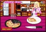 لعبة باربي طبخ البيتزا فلاش