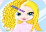 لعبة تجعيد الشعر للبنات اون لاين