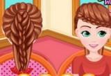 لعبة تربيط الشعر اون لاين