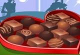 لعبة تزيين الشوكولاتة