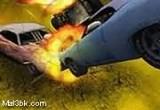 لعبة تصادم السيارات السريعة