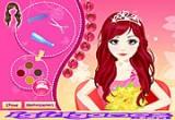لعبة تصميم شعر العروس