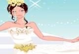 لعبة تلبيس ازياء العروس في ليلة زفافها