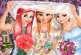 لعبة تلبيس الأميرات العرايس