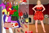 لعبة تلبيس باربي ملابس العيد فلاش