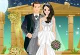 لعبة تلبيس فستان الزفاف الطويل الحصري