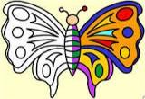 لعبة تلوين الفراشة الجميلة