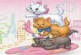 لعبة تلوين القطط الثلاثة الجديدة جدا