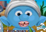 لعبة تنظيف اسنان سنفور السنافر الاصلية