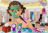 لعبة تنظيف بشرة البنت المزه الحقيقية
