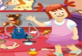 لعبة تنظيف مكان العاب الاطفال 2016