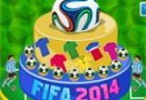 لعبة تورتة مونديال البرازيل 2016