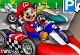 لعبة توقيف سيارة ماريو السريعة