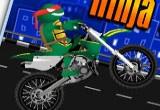 لعبة دراجة السلاحف النينجا النارية 2016