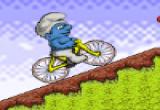 لعبة دراجة سنفور