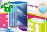 لعبة ديكور الحمام الشيك
