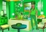 لعبة ديكور الغرفة الخضراء 2016