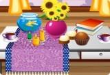 لعبة ديكور طاولة غرفه الجلوس