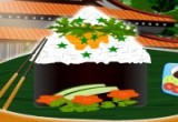 لعبة ترتيب طبق السوشي