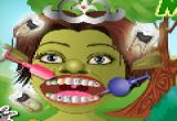 لعبة رعاية اسنان البنت الخضراء الحصرية