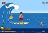 لعبة ركوب الامواج والتزلج على البحر
