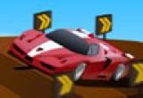 لعبة سباق سيارات الجسر المعلق