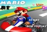 لعبة سباق سيارات سوبرماريو
