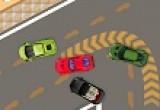 لعبة سباق سيارات على الساحل