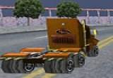 لعبة سباق شاحنات نقل اون لاين