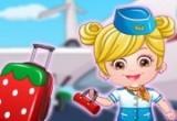 لعبة سفر بيبي هزل الطفلة العسلية
