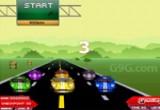 لعبة سيارات السباق العكسي