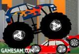 لعبة سيارات الشاحنة المدمرة الحديثة
