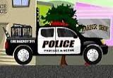 لعبة سيارات الشرطة والحرامي
