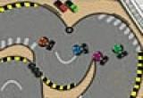 لعبة سيارات المسار المتعرج فلاش