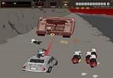 لعبة سيارات تبادل اطلاق النار جامده جدا